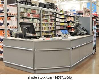 Walmart Store Interirs Images, Stock Photos & Vectors