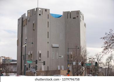 DENVER, CO, USA - MARCH 15, 2019: Denver Art Museum image