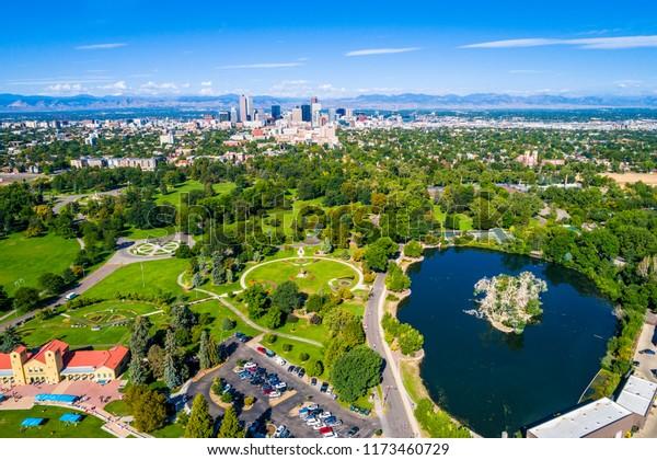 Denver Colorado Green Space City Park Stock Photo (Edit Now) 1173460729