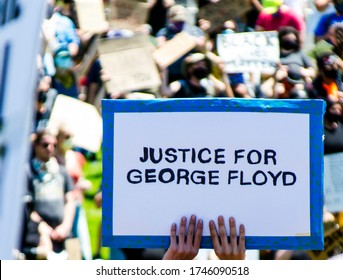 Denver, Colorado / USA – 5/30/20: Citizens protest the murder of George Floyd by Minneapolis, Minnesota Police Officers.
