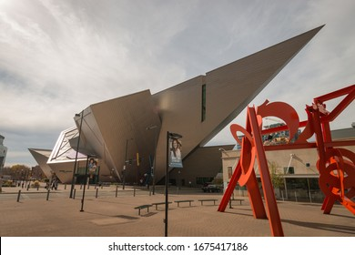 Denver, Colorado, USA - October 28, 2016: Denver Art Museum