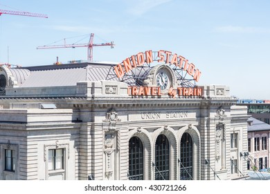 Denver, Colorado, USA-June 2, 2016. Historical Union Station after redevelopment.