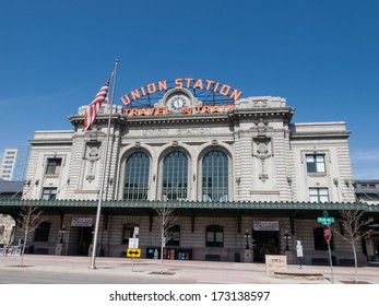 Denver, Colorado-April 9, 2011: Union Station in Denver, Colorado.