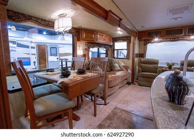 Denver, Colorado-January 10, 2013: Annual  Colorado RV Adventure Travel Show.