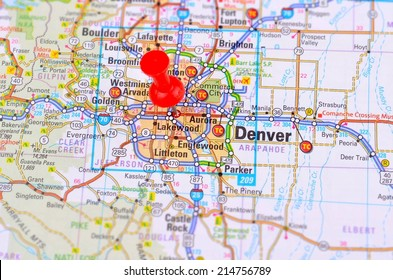Denver and Map