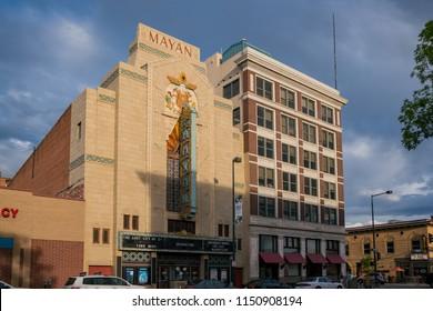 Denver, MAY 6: The special Mayan Theater on MAY 6, 2017 at Denver, Colorado