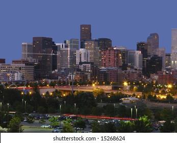 Denver night line