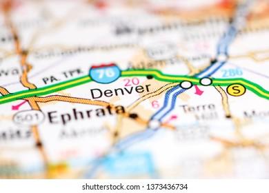 Denver Map Images, Stock Photos & Vectors | Shutterstock on
