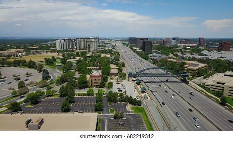 Denver Tech Center and Interstate
