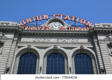 denver union station, denver, colorado on august 2, 2017