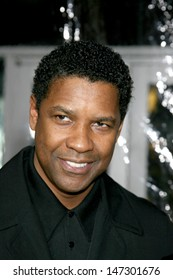 "Denzel Washington ""American Gangster"" Premiere ArcLight Theater Los Angeles, CA October 29, 2007"
