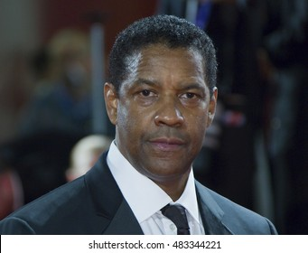 Denzel Washington attends the premiere of 'The Magnificent Seven' during the 73rd Venice Film Festival at Sala Grande on September 10, 2016 in Venice, Italy.