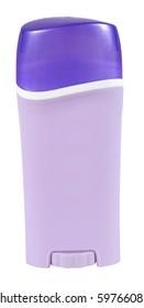 Deodorant. Isolated