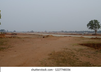 DEOGHAR, JHARKHAND INDIA- NOVEMBER 2018: Upcoming International airport in Deoghar. Deoghar a temple town is getting urbanized at a fast pace.