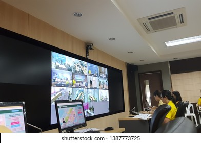 Department of Disease Control,Ministry of public health , Thailand activated Emergency operations center:EOC for Dengue Fever and VDO Conference with regional agencies  on april 24, 2019
