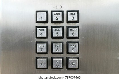 Department Stores, MRT, hospitals, offices, public telephones set up, need to coin to call. Metallic digital keys. Emergency contact easy to use.