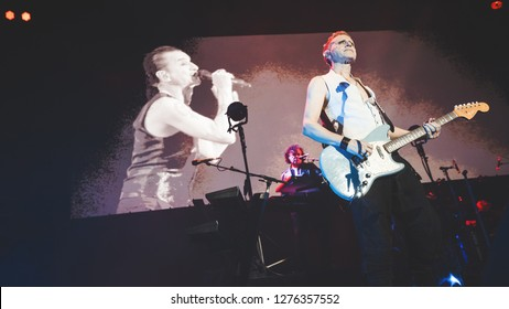 Depeche Mode Saint-Petersburg, Russia - 16 February 2018, CKK