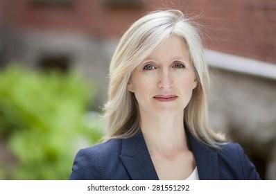 Depression Of A Mature Businesswoman