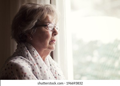 Depression Of A Senior Woman