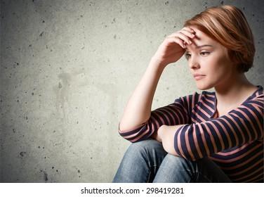 Depression, Teenager, Sadness.