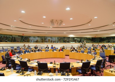 Deputies working group session at European parliament - BRUSSELS, DECEMBER 17, 2013
