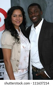 Derek Luke and wife Sophia at the Los Angeles Film Festival 2007 Spirit Of Independence Awards. Billy Wilder Theatre, Westwood, CA. 06-28-07