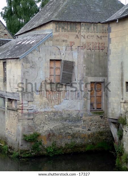 Derelict building in France