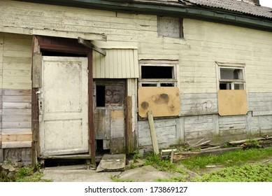 Derelict House in Liepaja, Latvia