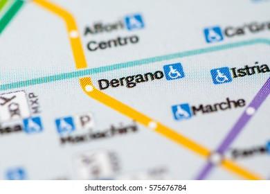 Milan Subway Map.P Romana Station Milan Metro Map Stock Photo Edit Now 575677117