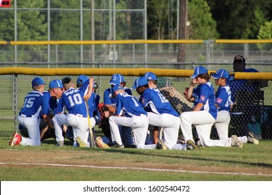 DERIDDER, LA - JUNE 13-15, 2019 - Dixie Youth Baseball play in championship games ahead of the Little League World Series.