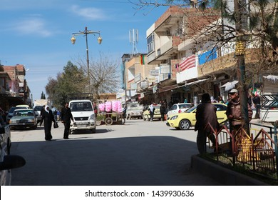 Derik, Syria- Derik is one of the safe cities in the north of Syria controlled by the Kurds in the third year of the Syrian war. March 20, 2013.