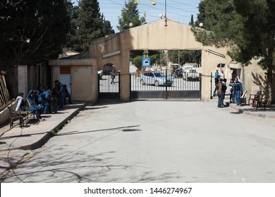 Derik, Syria- In the third year of the Syrian war, the public order building in Derik in northern Syria controlled by the Kurds. March 20, 2013.