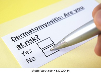 Dermatomyositis: are you at risk? yes or no