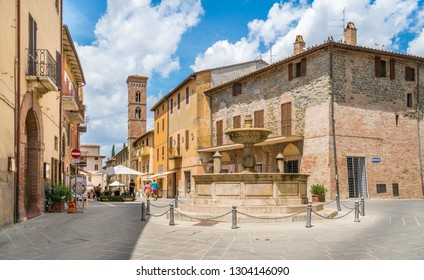 Deruta, beautiful village in the Province of Perugia, Umbria, Italy. July-09-2018