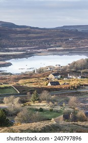 Dervaig & Loch Cuin on the Isle of Mull in Scotland.
