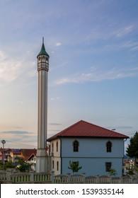 Derventa, Republic of Srpska / Bosnia and Herzegovina - August 3, 2019: Donjacka mosque, one of three mosques in Derventa