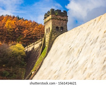 Derwent Dam in Derbyshire built between 1914 and 1916 it was site of the Dam busters practice raids of 1943