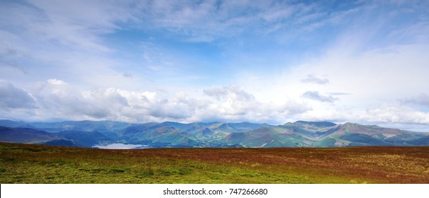 Derwent Mountains as seen from Skiddaw