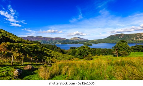 Derwentwater in The Lake District, Cumbria, England