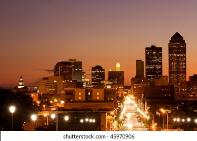 Des Moines, Iowa - center of insurance industry in US