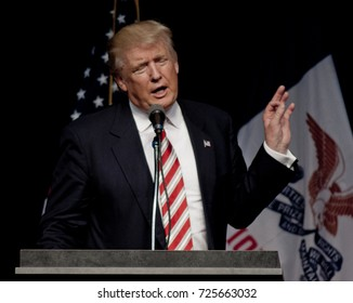Des Moines, Iowa, USA, 13th September, 2016