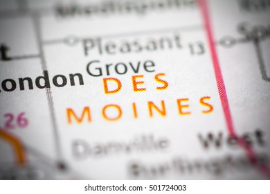 Des Moines. Iowa. USA.