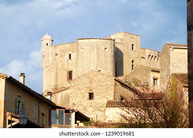Château des Roure in Labastide-de-Virac in Ardeche, France
