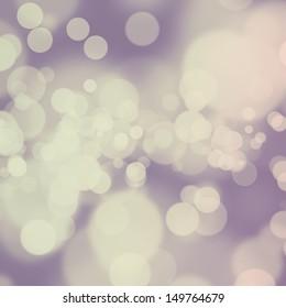 Desaturated purple bokeh background