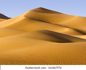Desert, Abu Dhabi - changing patterns of the Liwa Desert, which is part of the Rub al Khali Desert or Empty Quarter, straddling UAE, Oman, Yemen and Saudi Arabia