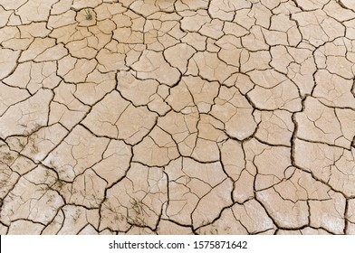 Desert badlands caused by climate change
