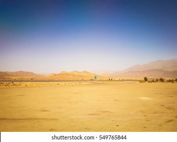 Desert and the Blue Sky, Iran