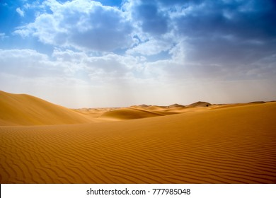 Desert and blue sky - landscape