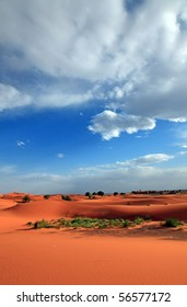 Desert Clouds in Morocco