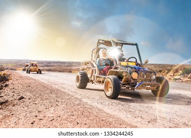 Desert discovery in buggy